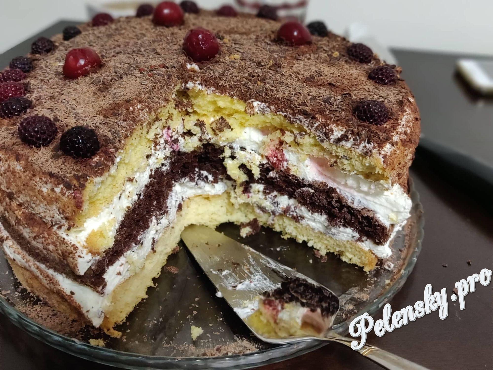 """Торт """"Марія"""". Улюблена випічка з доступних інгредієнтів!"""