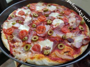 Рецепт домашньої піци як в піцерії