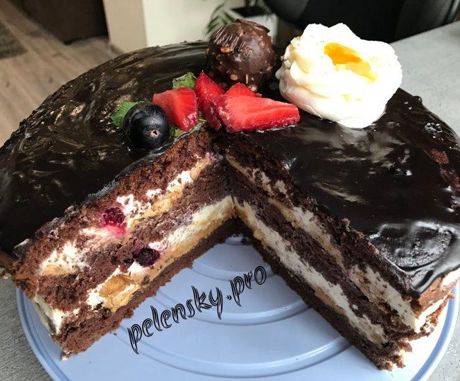 """Простий та неймовірно смачний торт """"Солодка Фея""""."""