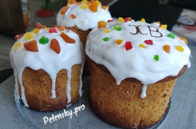 Рецепт глазурі для пасок, тортів і будь якої випічки на желатині, яка не кришиться.