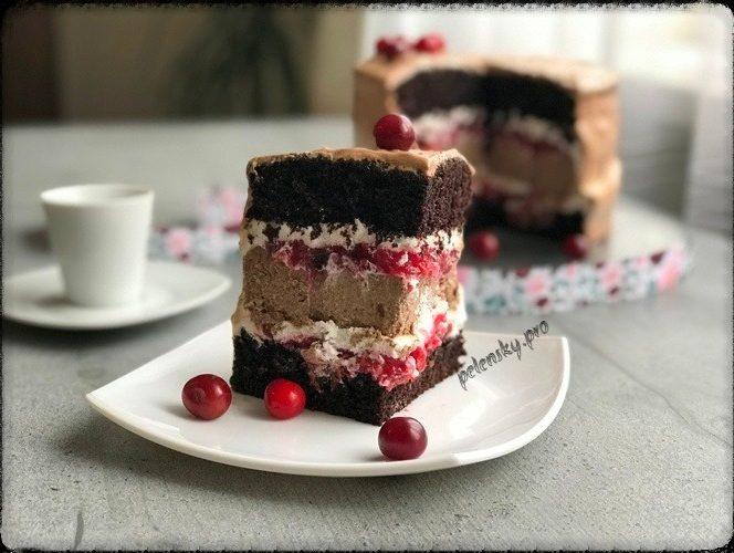Торт «Вишня-маскарпоне»