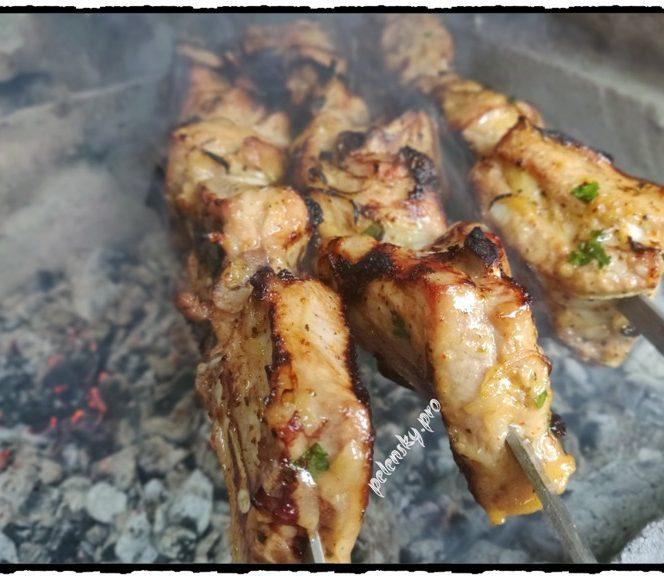Швидкий шашлик з свинних ребер в ароматному маринаді, тепер готую тільки так.