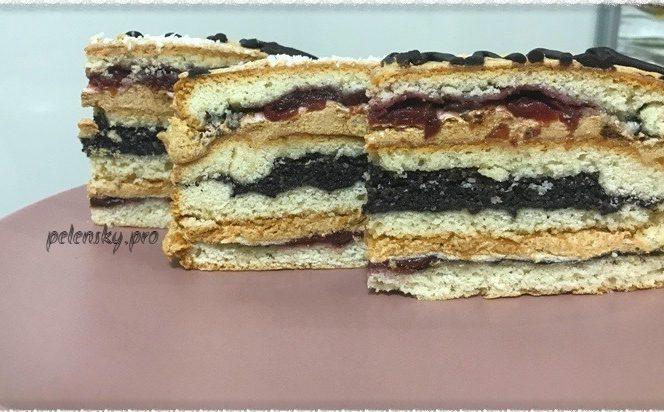 """Торт-пляцок """"Королівський""""."""