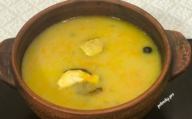 Грибна юшка з білих сушених грибів: рецепт карпатської господині.