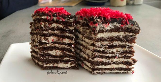 """Торт-пляцок """"Спартак"""", скільки різної випічки не готую, але цей мій улюблений тортик."""