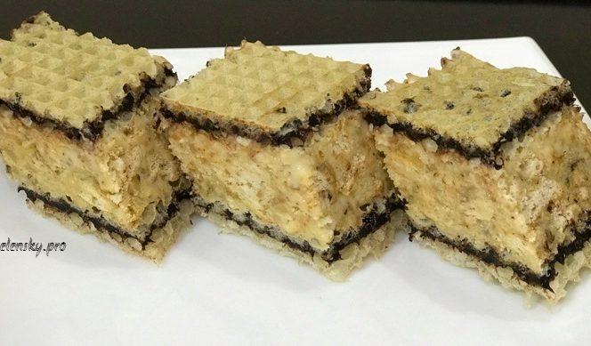 Торт снігерс без випікання – рецепт швидкого десерту.