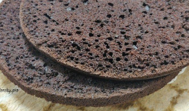 Новий рецепт шоколадного бісквіта, без збивання яєць, ніжний, пористий. Ідельний для коржів та чаювання.