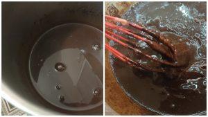 Шоколадний бісквіт без збивання яєць.