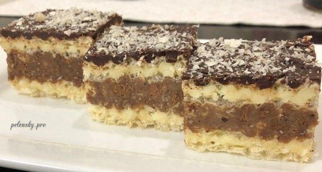 """Торт-пляцок без випічки """"Божена"""", все що потрібно – це подрібнити та перемішати."""