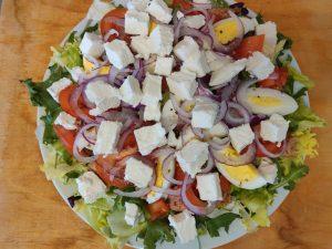 Салат з фетою