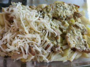 Картопля з м'ясом по французьки