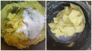 Картопляні галушки з начинкою
