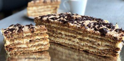 """Торт """"Естерхазі"""" без борошна, відомий десерт усіх кафе."""