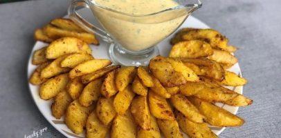 Картопля по селянськи в духовці – люблять дорослі і діти.