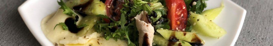 """Салат з м'ясом та овочами """"Клодія"""", святковий і смачний."""