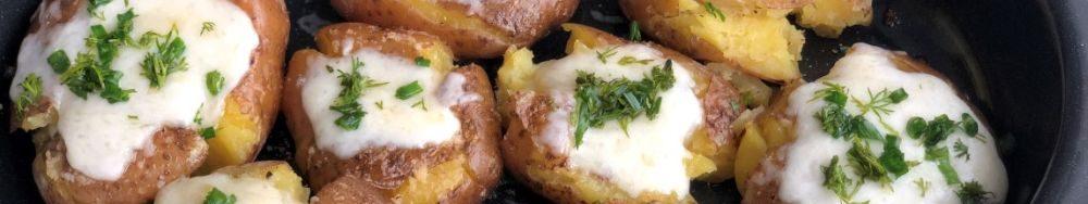 Відварена та запечена картопля, Ви закохаєтеся в цей рецепт.