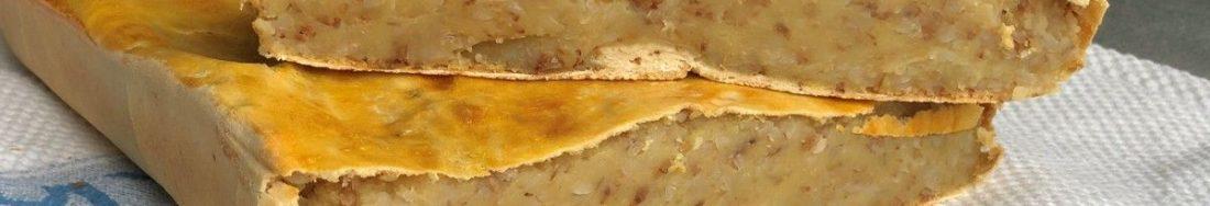 Гречаний пиріг з картоплею по галицьки. Ситно та смачно.