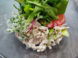 Салат з бринзою