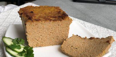 Печінковий паштет запечений в духовці. Рецепт використовую часто.