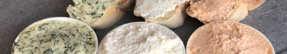 Намазки на хліб. Рецепти намазок для бутербродів, грінок і канапе.