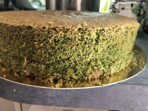Торт з шпинатом