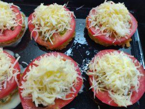 Кабачки з помідором