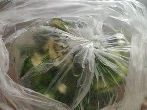 огірки в пакеті