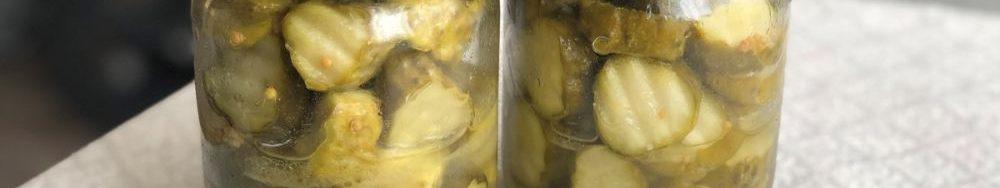 Мариновані огірки з гірчицею на зиму. Рецепт хрустких огірочків.
