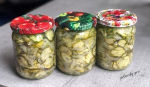 """Салат з огірків на зиму """"Ніжинський"""""""