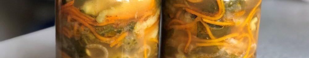 Огірки по-корейськи на зиму. Ідеальний салат для зимового меню.