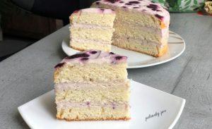 Торт з вершковим кремом