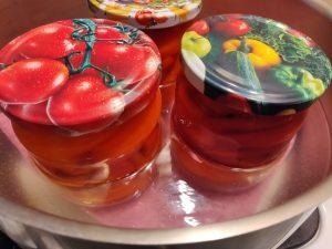 Маринований болгарський перець з медом