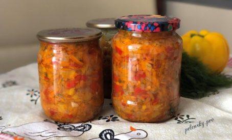 Овочева заправка для супу. Аромат овочів літа у банці.
