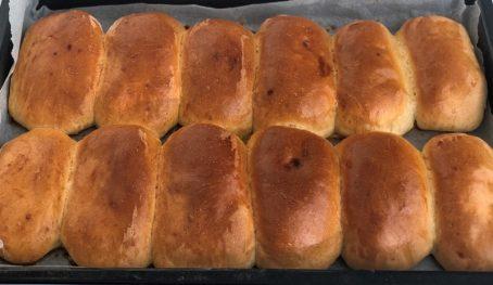 """Пиріжки з повидлом в духовці. Моє улюблене """"венське"""" тісто."""